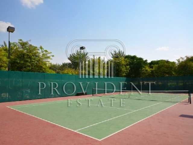 Alvorada, Arabian Ranches - Tennis Court