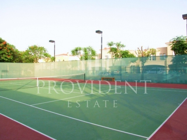 Al Reem 3, Arabian Ranches - Tennis Court