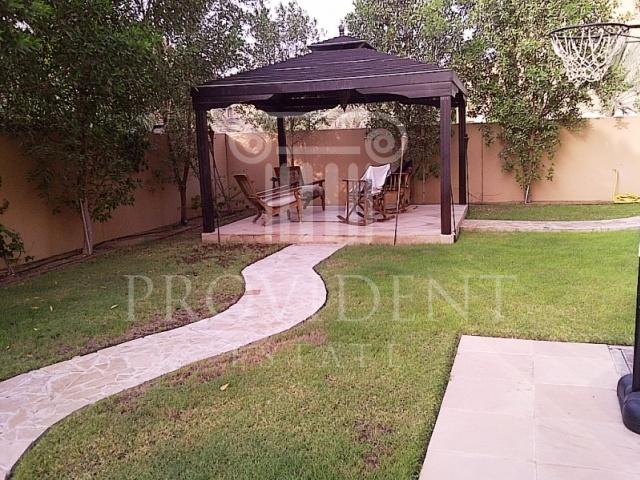 Garden - Hattan, Arabian Ranches